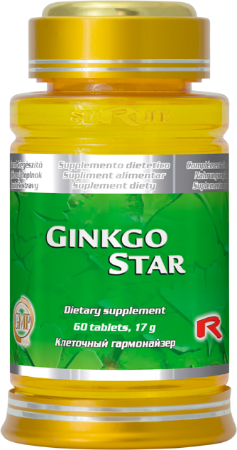 STARLIFE GINGKO STAR 60 tablet