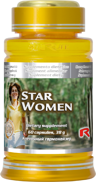 STARLIFE STAR WOMEN 60 kapslí