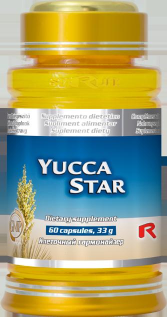 STARLIFE YUCCA STAR 60 kapslí