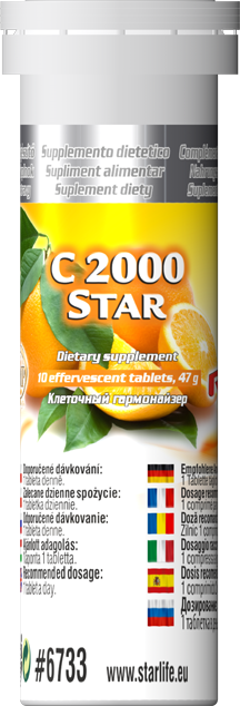 STARLIFE C-2000 STAR 10 tablet