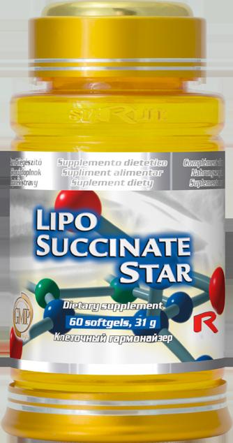 STARLIFE LIPO-SUCCINATE STAR 60 kapslí