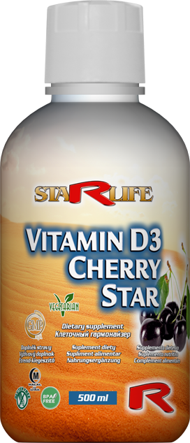STARLIFE VITAMIN D3 CHERRY STAR