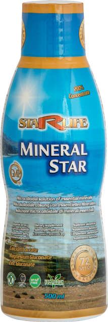 STARLIFE MINERAL STAR 500ml