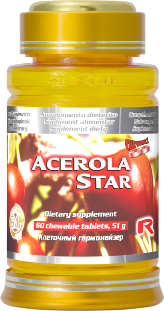 STARLIFE ACEROLA  STAR 60 tablet