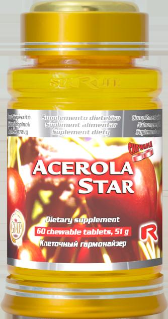 STARLIFE ACEROLA STAR 60 tablet