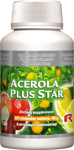 STARLIFE ACEROLA PLUS STAR 60 tablet