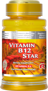 STARLIFE VITAMIN B12 STAR 60 tablet