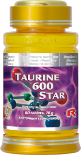 STARLIFE TAURINE 600 60 tablet