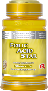 STARLIFE FOLIC ACID 60 tablet