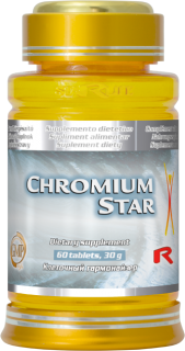 STARLIFE CHROMIUM STAR 60 tablet