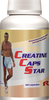 STARLIFE CREATINE CAPS 60 kapslí