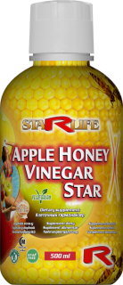 STARLIFE APPLE HONEY VINEGAR STAR 500 ml