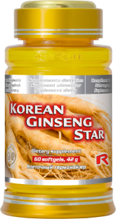 STARLIFE KOREAN GINSENG STAR 60 kapslí